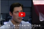 Domb on Fox Sports show Sport Science in 2007 - Malarchuck interview